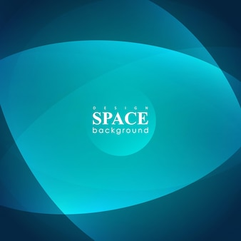 Universo futuristico astratto dell'iperspazio su sfondo blu