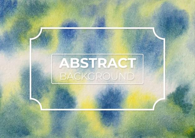 Abstract gamboge hue e prussian blu color moderno ed elegante sfondo di design