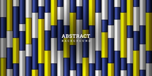 Sfondo geometrico astratto 3d