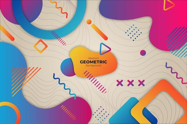 Sfondo geometrico astratto colorato