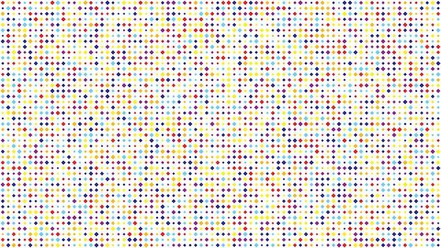 Fondo geometrico astratto dei quadrati. sfondo pixel multicolore con spazio vuoto. illustrazione vettoriale.