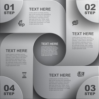 Fondo geometrico astratto, progettazione dell'elemento web, sito web