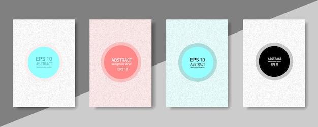 Sfondo geometrico astratto con trama di linea per il design della copertina dell'opuscolo aziendale.