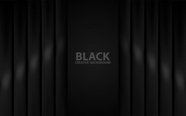 Priorità bassa nera geometrica astratta di struttura