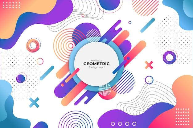 Sfondo colorato geometrico astratto