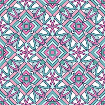 Disegno geometrico astratto in colori pastello. modello etnico.