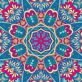 Disegno astratto geometrico etnico senza cuciture