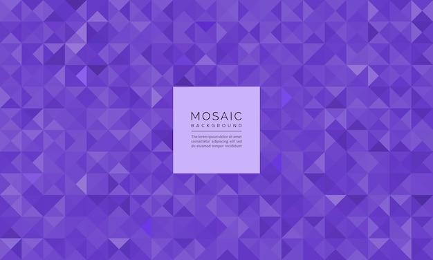 Scintillio geometrico astratto del mosaico del modello e del fondo della pietra preziosa viola della tanzanite