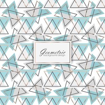 Motivo geometrico astratto con design di lusso