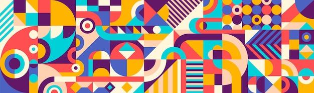 Motivo geometrico astratto
