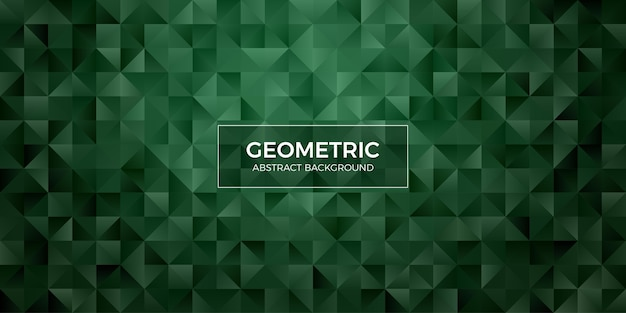 Carta da parati geometrica astratta del fondo del poligono. copritestata con polly bassa a forma di triangolo
