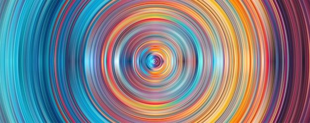 Priorità bassa del cerchio delle bande di geometria astratta