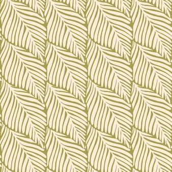 Stampa senza cuciture giungla astratta dell'oro. pianta esotica. modello tropicale, foglie di palma sfondo floreale vettoriale senza soluzione di continuità.