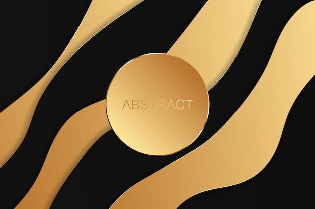 Fondo astratto di lusso dell'oro. illustrazione vettoriale