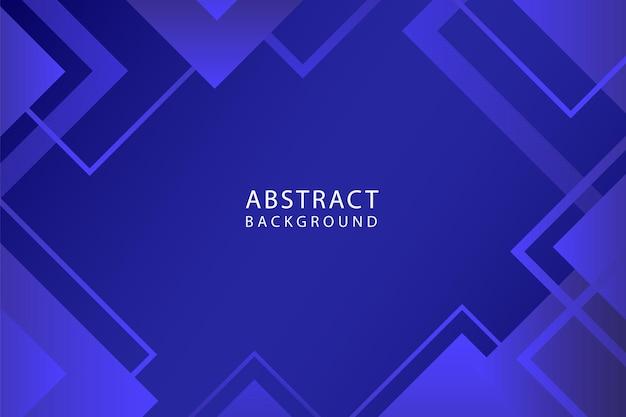 Sfondo di forme geometriche blu sfumato astratto