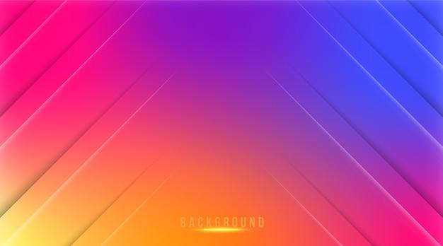 Sfondo di colore gradiente astratto instagram