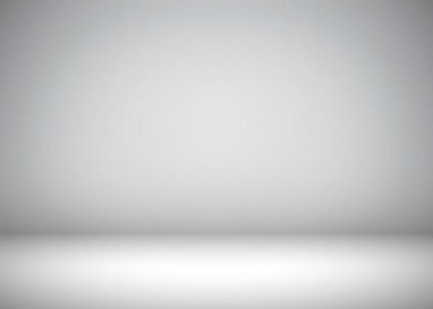 Sfondo grigio astratto con vignetta per il posizionamento di testo o oggetti