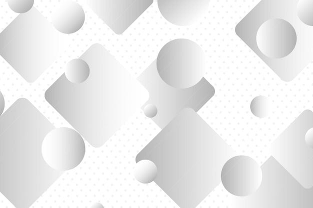 Quadrato grigio astratto in sfondo di diverse dimensioni illustrazione vettoriale