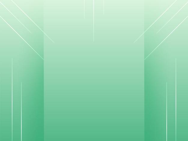 Fondo elegante moderno verde astratto