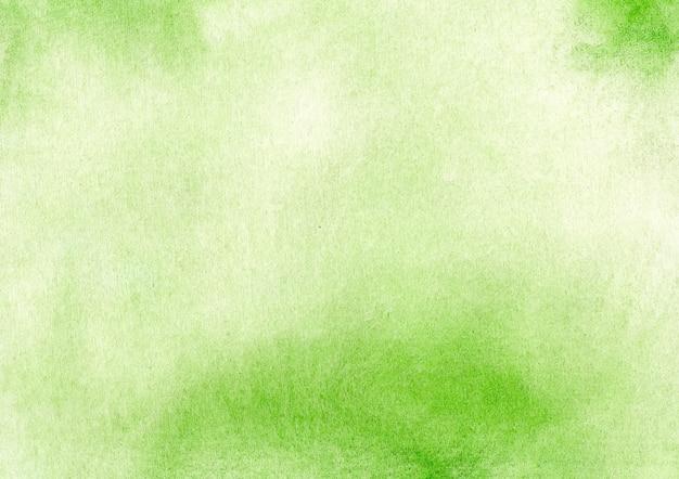 Struttura verde astratta acquerello sfondo
