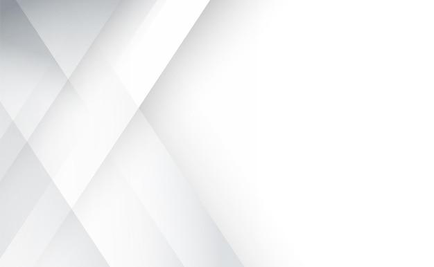 Fondo geometrico env 10 di progettazione corporativa di tecnologia grigia e bianca astratta illustrazione di vettore