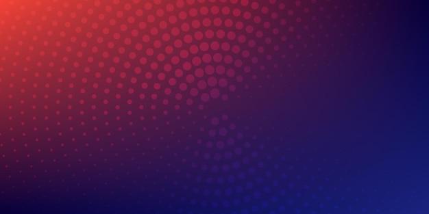 Lo sfondo astratto dei mezzitoni è costituito da punti diversi. illustrazione astratta del globo punteggiata isolata su sfondo colorato. illustrazione vettoriale.