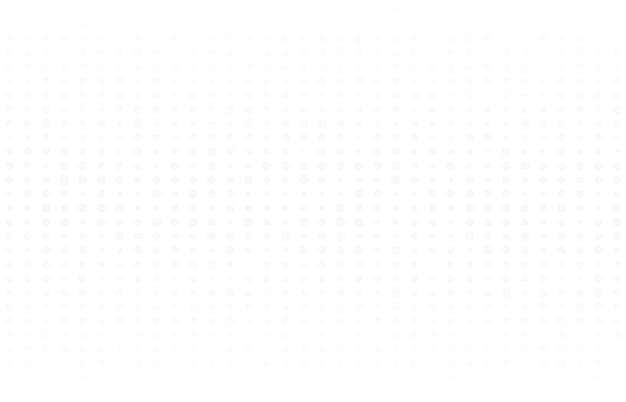 Progettazione astratta del punto di semitono decorativo sul modello bianco. design semplice per lo sfondo della copertina. illustrazione vettoriale