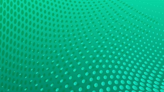 Fondo astratto dei punti di semitono nei colori del turchese turquoise