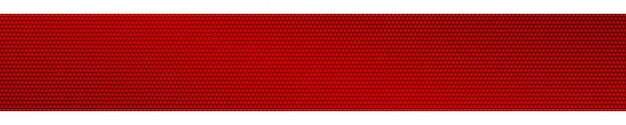 Banner orizzontale sfumato di semitono astratto nei colori rossi