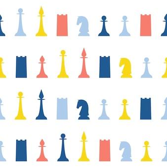 Fondo senza cuciture astratto di scacchi fatti a mano. carta da parati infantile artigianale per biglietti di design, pannolini per bambini, pannolini, album di ritagli, carta da regalo per le vacanze, tessuto, stampa di borse, t-shirt ecc.