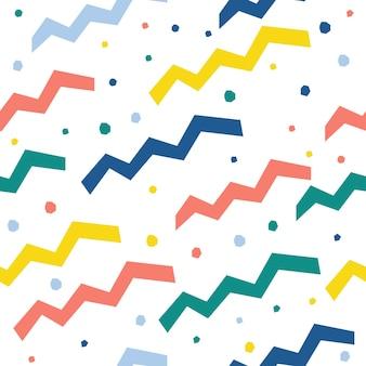 Fondo senza cuciture fatto a mano astratto. carta da parati infantile artigianale per biglietti di design, carta da parati, album, album di ritagli, carta da regalo per le vacanze, tessuto, stampa di borse, t-shirt ecc.