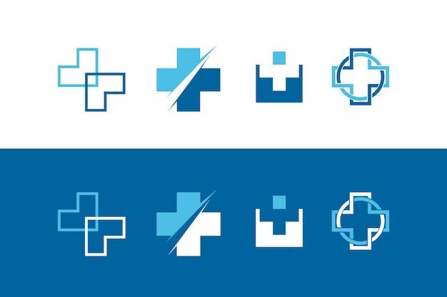 Simbolo croce salute astratta