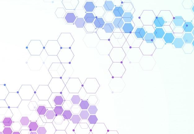 Strutture molecolari esagonali astratte