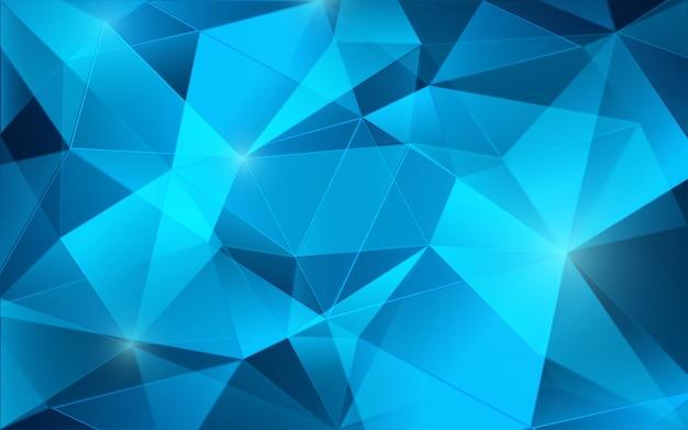 Gioielli astratti con texture glitter diamante. fondo astratto basso poligono. triangoli 3d. illustrazione vettoriale