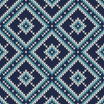 Reticolo lavorato a maglia astratto. trama di lana per maglieria senza soluzione di continuità. design maglione lavorato a maglia