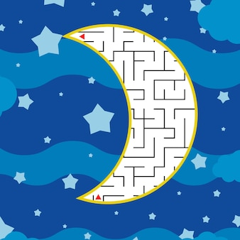 Labirinto astratto.