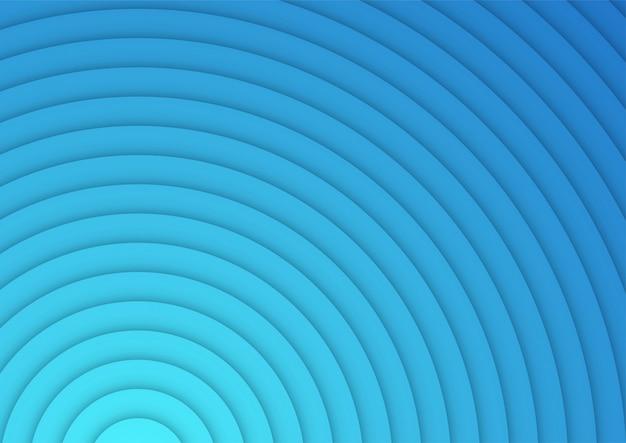 Anelli a strati astratti sfondo blu