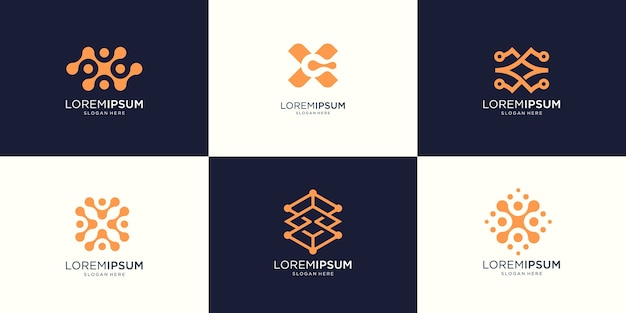 Grafica astratta dell'illustrazione del logo della lettera x in stile moderno. buono per internet, tecnologia, marchio, pubblicità.