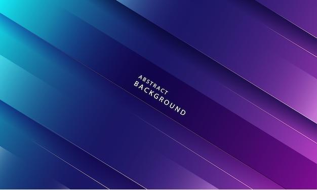 Fondo leggero astratto delle bande diagonali. con gradazioni di blu brillante e rosa.