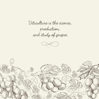 Poster organico leggero astratto