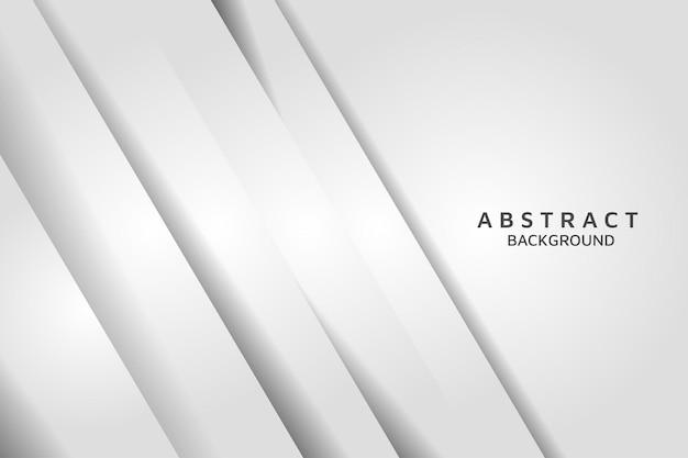 Fondo d'argento chiaro astratto con il vettore dell'ombra. sfondo bianco moderno.