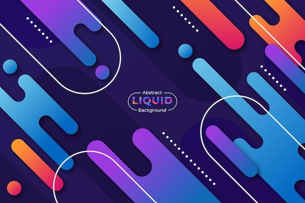 Sfondo colorato liquido astratto