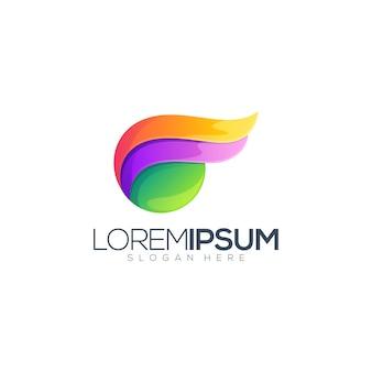 Logo design astratto