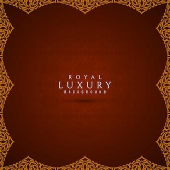 Priorità bassa alla moda di lusso astratta con il bordo