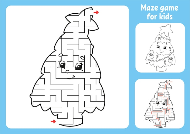 Illustrazione astratta del labirinto