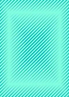 Copertura minimale astratta con onde geometriche e sfumature. layout alla moda con mezzitoni. modello di copertina minimale astratto per libro, banner, invito e poster. illustrazione futuristica di affari.