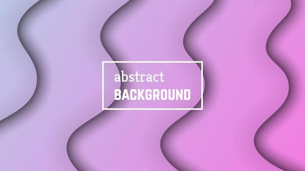 Fondo geometrico astratto dell'onda minima. forma di strato d'onda rosa per banner, modelli, carte. illustrazione vettoriale.