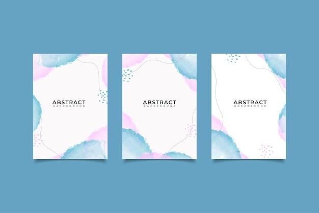 Sfondo astratto minimalis copertina