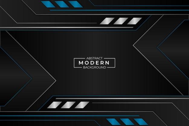 Stile moderno astratto blu del fondo