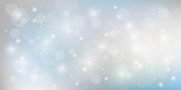 Sfumature di sfondo moderno astratto di grigio argento con particelle lucide elemet
